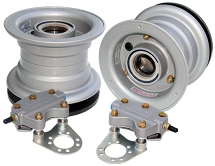 RV Wheel & Brake Kits
