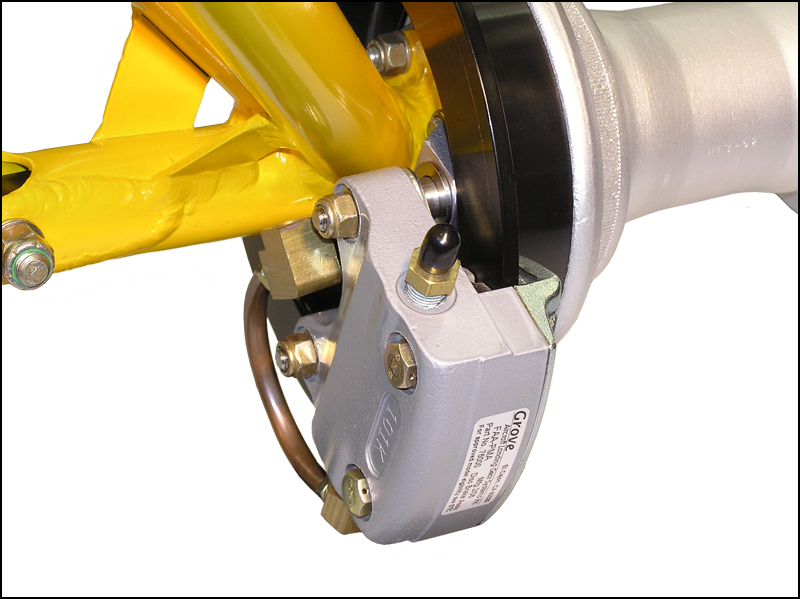 Cub FAA-STC Disc Brake Kit